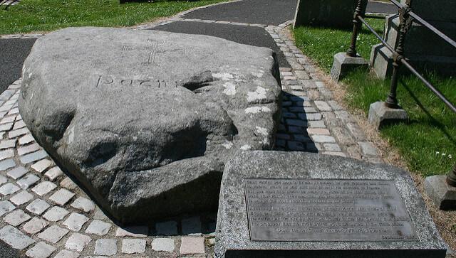 St Patricks Grave Northern Ireland